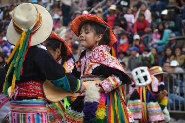 Realizan en la Plaza de Armas la tradicional Fiesta del Cusco
