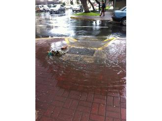 WhatsApp: reportan aniego en San Isidro