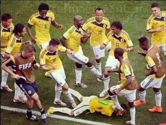 Brasil vs. Colombia: Los memes que dejó la pelea entre Neymar y Bacca