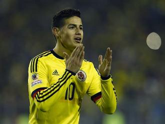 Copa América: James Rodríguez y el atrevido pedido que le hizo este hincha
