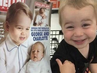 Reddit: este niño cree que es el 'doble' del Príncipe Jorge de Inglaterra