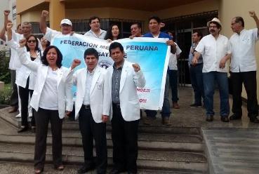 Médicos del Minsa protestan por mejoras en Lambayeque