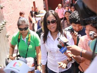 Nadine Heredia a Marisol Pérez: En democracia hay derechos que respetar