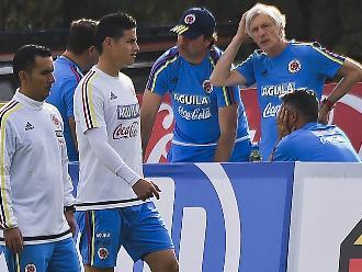 Copa América: James Rodríguez no entrena con normalidad
