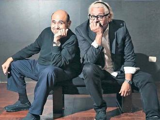 Ricky Tosso y Edgar Vivar llevan