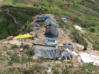 Cajamarca: dos mineros mueren sepultados en minera informal