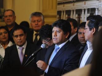 Gana Perú: No hay sustento jurídico ni técnico para investigar a Heredia