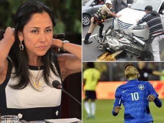 Resumen: Incluyen a Nadine Heredia en investigaciones por caso Belaunde Lossio, nueve meses de prisión preventiva para abogada que atropelló a policías y suspenden cuatro fechas a Neymar en Copa América