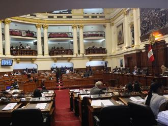 Congreso: En AP-Frente Amplio también respaldan lista de oposición