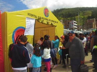 Andahuaylas: aumentan infecciones respiratorias por bajas temperaturas