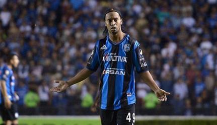 Ronaldinho le dice adiós a Querétaro con emotivo mensaje