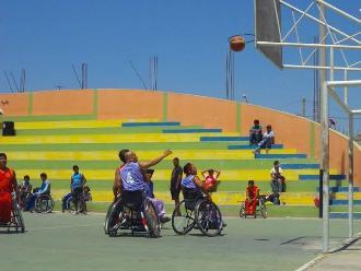 Lambayeque: realizan campeonato de basquetbol sobre silla de ruedas