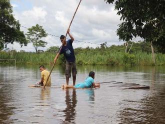 Moyobamba: agricultor desaparece en las aguas del río Huascayacu