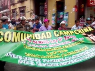 Trujillo: más de 500 ronderos participan de asamblea regional