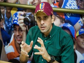 Capriles: la oposición está en condiciones de ganarle al chavismo