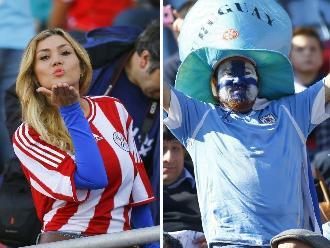 Paraguay vs. Uruguay: Belleza y color inundaron Estadio La Portada en La Serena