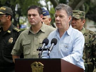 Santos dice que conflicto armado agrava problemas del cambio climático
