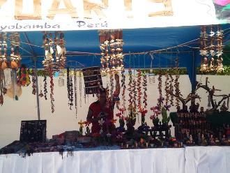 Moyobamba: artesanos exponen sus mejores líneas en semillas y cortezas