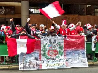 Perú vs. Colombia: Paolo Guerrero y compañía despertaron con gritos de aliento