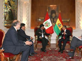 Perú y Bolivia abrirán nuevas sendas en su relación, afirma canciller