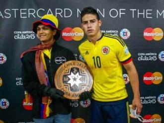 Perú vs. Colombia: James Rodríguez fue elegido el mejor del partido