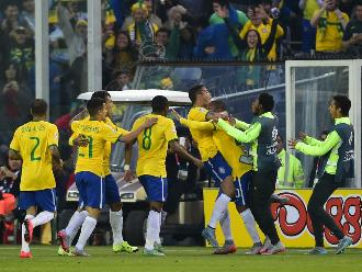 Brasil vs. Venezuela: Imágenes del 'Scratch' y su clasificación a cuartos de final