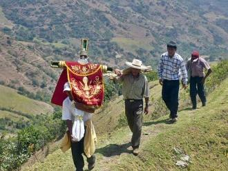 Chiclayo: buscan a sujetos que robaron piezas de la Cruz de Yanahuanca