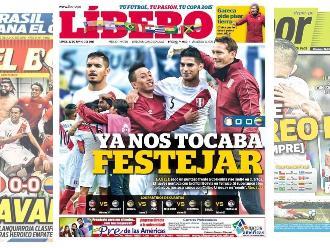 Copa América: Estas portadas generó el pase a cuartos de Perú
