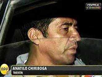 Taxista sobre incidente con Otárola: