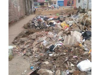 VMT: montículos de basura afecta a los vecinos de Nueva Esperanza