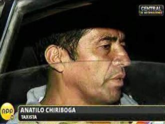 Taxista acusado de agredir a Fredy Otárola estará en calidad de testigo