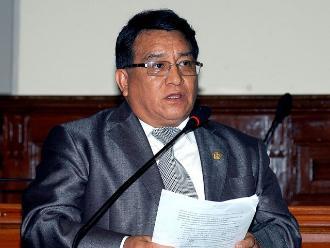 Caso de congresista José Luna se verá en próxima legislatura