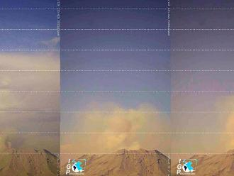 Exhalaciones del volcán Ubinas expulsaron gran cantidad de cenizas