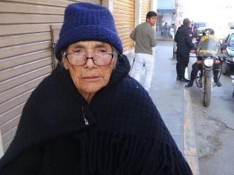 Huancayo: ladrón agrede a anciana para robarle su monedero