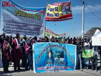 Puno: dirigentes se juntaron y preparan paro nacional contra Ollanta Humala