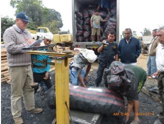 La Libertad: incautan ocho mil kilos de carbón vegetal en Chepén