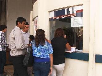 ONP: No obligamos a afiliados a cobrar pensiones en entidad financiera