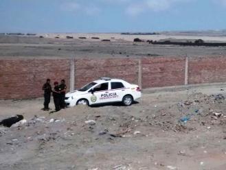 Casma: dos policías heridos tras despiste y vuelco de patrullero