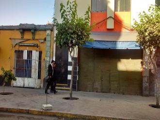 Detonan artefacto explosivo en céntrica calle de Arequipa