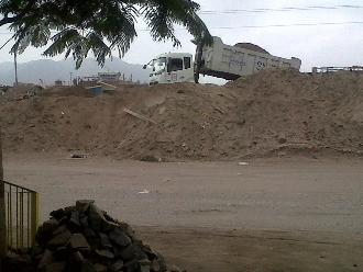 WhatsApp: desmonte afecta y contamina a pobladores de VES