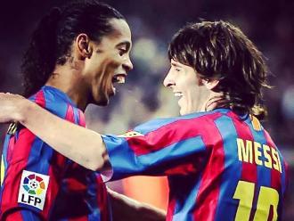 Ronaldinho y mensaje de cumpleaños a su amigo Lionel Messi