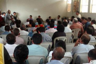 Chiclayo: transportistas exponen problemática a nuevo gerente edil