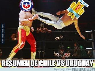 Chile vs. Uruguay: Estos memes dejó el durísimo duelo de Copa América