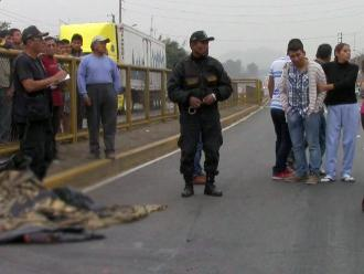 Huaral: hombre es atropellado en la carretera Panamericana Norte