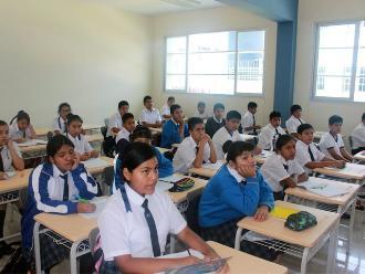 Invierten más de S/.68 millones en mobiliario escolar