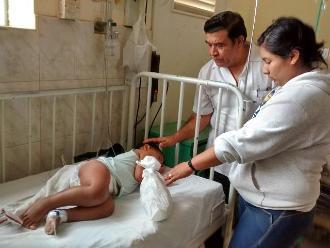 Menor mordido por serpiente evoluciona favorablemente en Chiclayo
