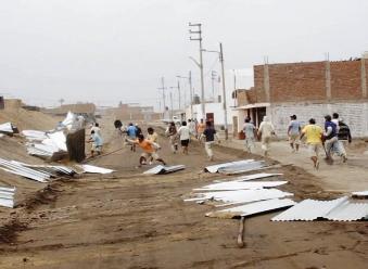 Huanchaco: por tercera vez en un mes desalojan a invasores de Gramalote