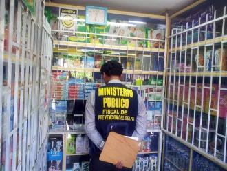 Ica: Ministerio Público realizó operativo inopinado en farmacias