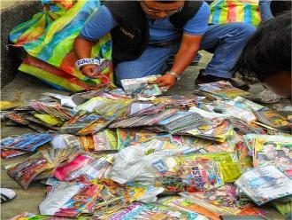 Chiclayo: más de 10 mil discos grabados ilegalmente fueron decomisados