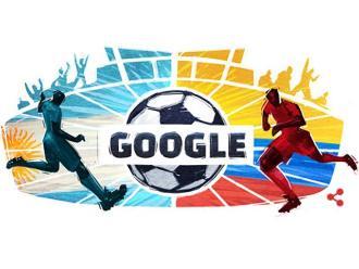 Copa América: Google dedica doodle al partido entre Argentina y Colombia